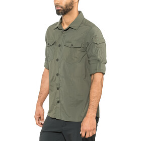 Craghoppers NosiLife Adventure II Camicia a maniche lunghe Uomo, verde oliva